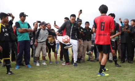 Menpora: Lapangan Bola Desa Cisayong Bisa Jadi Inspirasi Desa Lain
