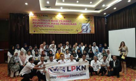 Pelatihan Bagi Pejabat Pemeriksa Hasil Pekerjaan (PJPHP/PPHP) Berdasarkan Peraturan Presiden No. 16 Tahun 2018, Tangerang 30-31 Oktober 2019